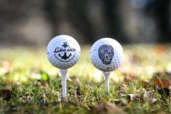 Gnuggistatueringar på golfboll